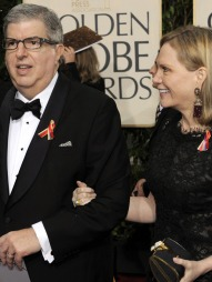 KONA: Hamlisch etterlater seg konen Terry Blair.  (Foto: TIMOTHY A. CLARY, ©dec/ljm)