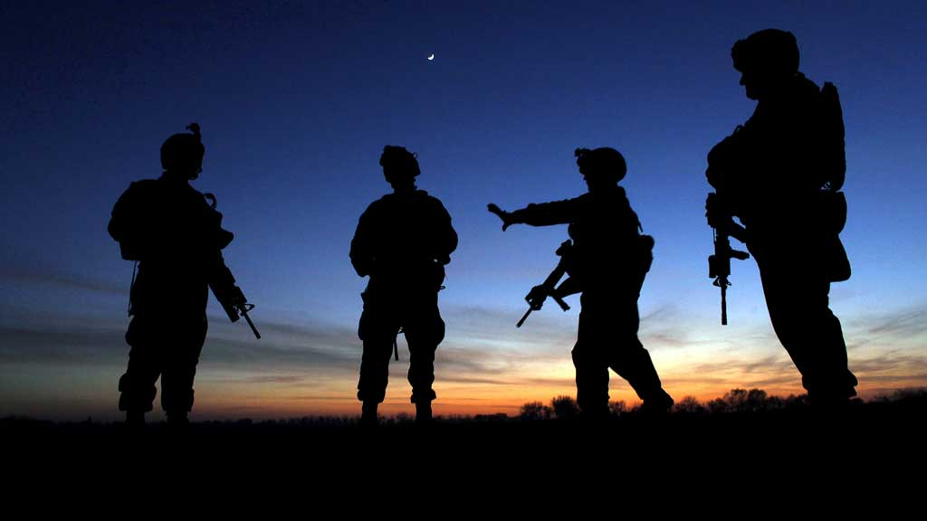 DREPT: En afghansk ansatt i en militærleir sør i Afghanistan drepte fredag kveld tre amerikanske soldater.  (Foto: Scanpix)
