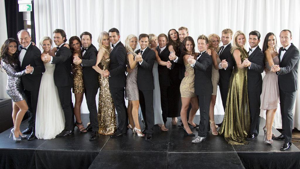 Her er årets Skal vi danse-deltagere (Foto: Thomas Reisæter)