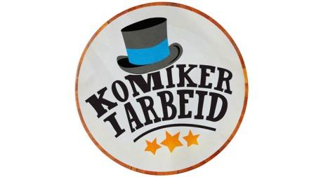 Komikere i arbeid - logo