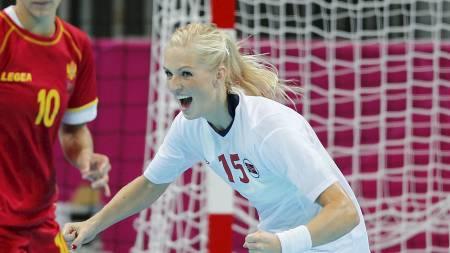STORFORM: Linn Jørum Sulland storspilte i OL-finalen og spilte en viktig brikke i Norges seier.  (Foto: Åserud, Lise/NTB scanpix)