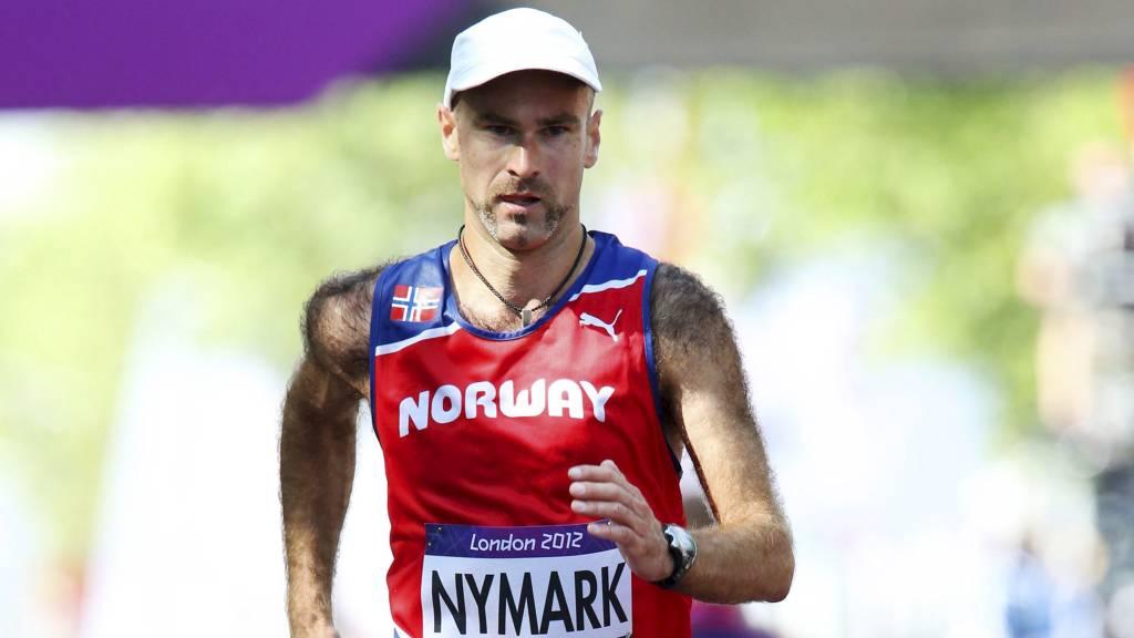 21. PLASS: Trond Nymark lå ann til å havne blant de 15 beste, men tapte mye på de siste meterne.  (Foto: Larsen, Håkon Mosvold/NTB scanpix)