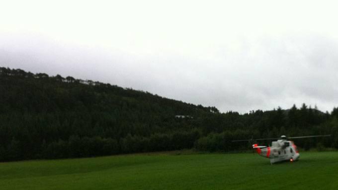 Navnene på de omkomne etter flystyrten i Trøndelag fredag er nå frigitt.  (Foto: Ronny Oksnes/TV 2)