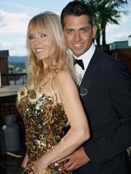 MÜLLER: Den tidligere playboy-modellen gleder seg til de mer intime dansene med dansepartner Glenn-Jørgen. (Foto: DR, ©ps)