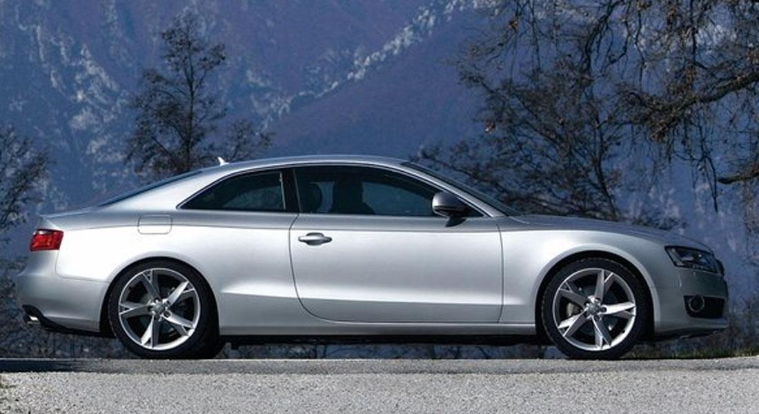 Audi A5, her som coupe, er tilgjengelig både som cabriolet og Sportback-variant. Den stilige sportsbilen ble raskt en hit - og det er mye å velge mellom for dem som nå er på utkikk etter en brukt variant.