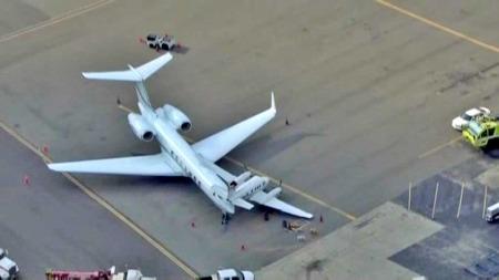 STORE FLY: Begge flyene var privatjeter og det største er eid av selskapet Heinz.  (Foto: CBS )