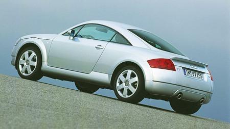Dette er første generasjon Audi TT, en bil som var en liten sensasjon da den kom tilbake i 1999.