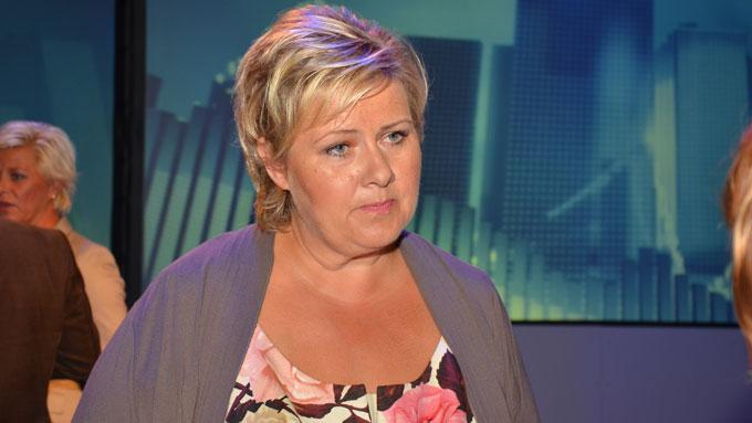 Erna Solberg (Foto: Ingvill Teige Stiegler/TV 2)
