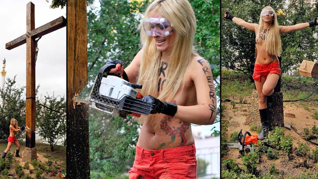 Femen Ukraina (Foto: Reuters)