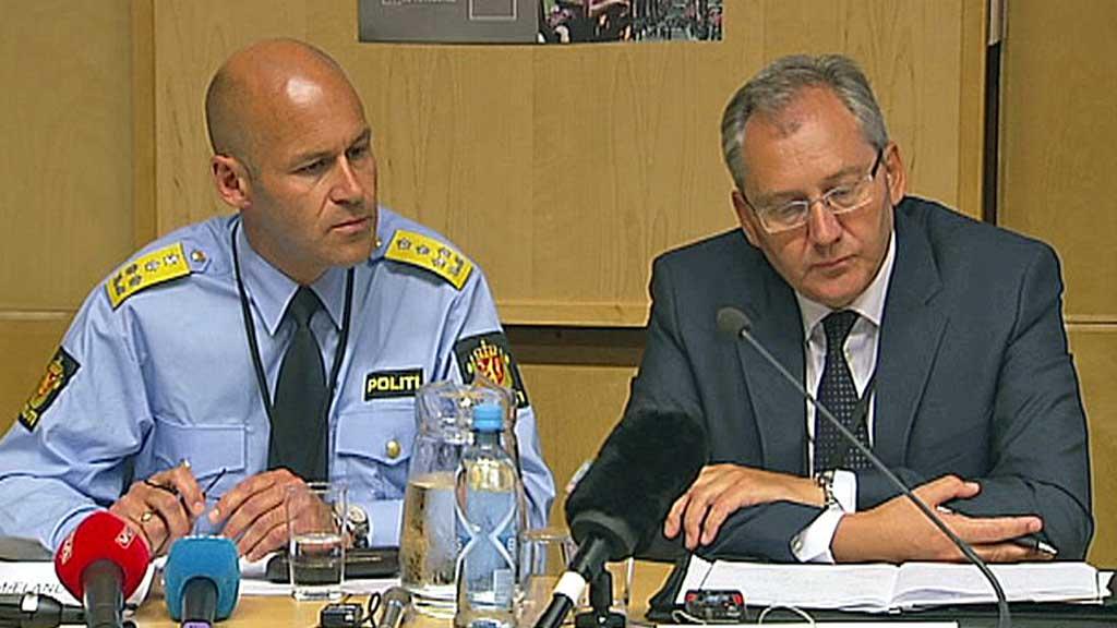TAR OVER: Øystein Mæland trakk seg i torsdag som politidirektør, og stillingen tas over av Kripos-sjef Odd Reidar Humlegård. (Foto: TV 2)