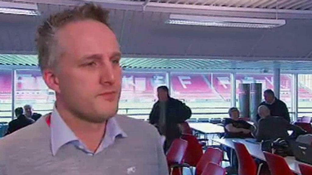 SLUTTER: Lars-Thomas Stene gir seg i Fredrikstad FK etter kun syv måneder i jobben.