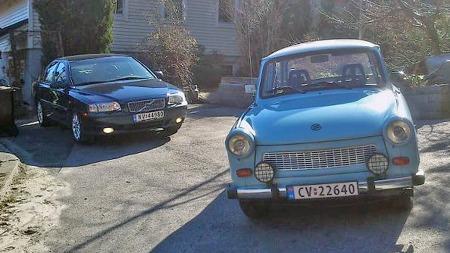 Jans drømmebil er en Trabant, og den har han allerede skaffet seg. Du har tidligere kunnet lese om også den i denne spalten her på Broom.no. (Foto: Privat)