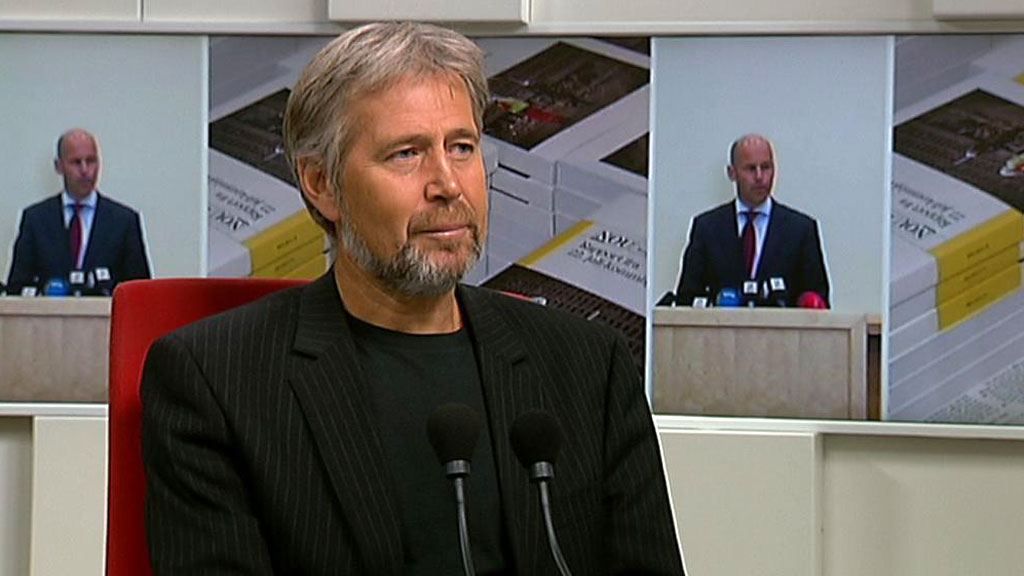 Leder i Politiets fellesforbund, Arne Johannessen, mener justisministeren skyver ansvaret nedover i systemet. Han forventer nå tydelige politiske grep.  (Foto: TV 2)