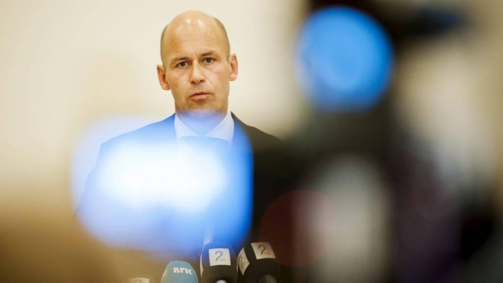 Spekulasjonene om hvem som blir Øystein Mælands etterfølge har  startet, etter at Mæland måtte trekke seg torsdag kveld. (Foto: Varfjell,  Fredrik/NTB scanpix)