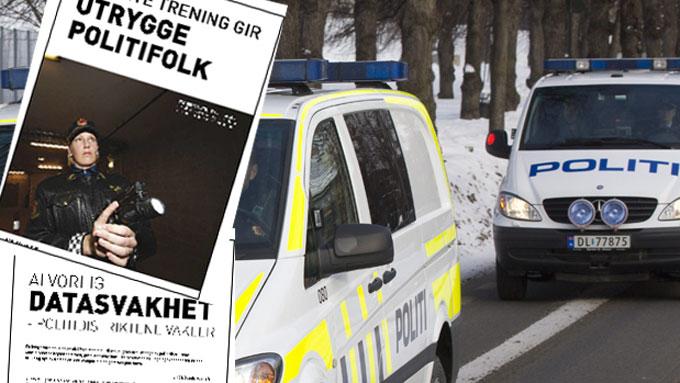 FLERE SLO ALARM: Politifolk har i flere år meldt fra om sin bekymring for mangler og svakheter i etaten. (Faksimile/illustrasjon) (Foto: SCANPIX/Politiforum.no)