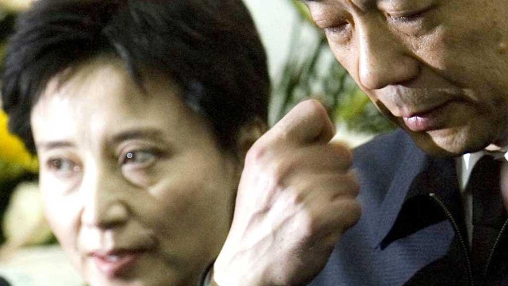 DØMT: Gu Kailai dømt til betinget dødsstraff   (Foto: AP Photo/Alexander F. Yuan)