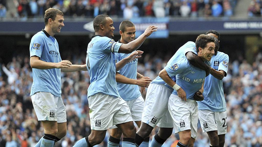 Manchester City-feiring (Foto: Martin Rickett/Pa Photos)