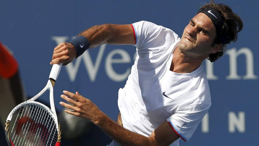 Roger Federer er klar for drømmefinale mot Novak Djokovic i Cincinnati Masters. (Foto: JOHN SOMMERS II/Reuters)