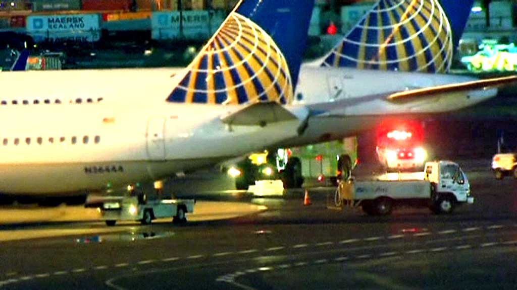 United Airlines (Foto: CBS)