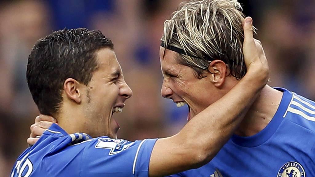 HAR DU DISSE?: Har du disse Premier League-stjernene på ditt PL-managerlag? Isåfall kan du styre dem gjennom mobilen.  (Foto: STEFAN WERMUTH/Reuters)