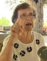 SKYLDIG: Cecilia Giménez (80). (Foto: Telecinco)
