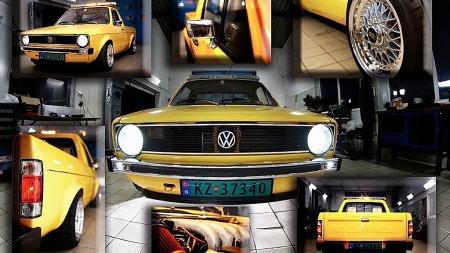 Torsteins Caddy er rik på lekre detaljer - og for en entreprenør kan det være uvant å ta så godt vare på en bil, innrømmer han. (Foto: Privat)