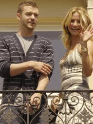 KJÆRESTER: Cameron Diaz og sanger Justin Timberlake holdt sammen   i fire år. (Foto: Augustin, ©ep)
