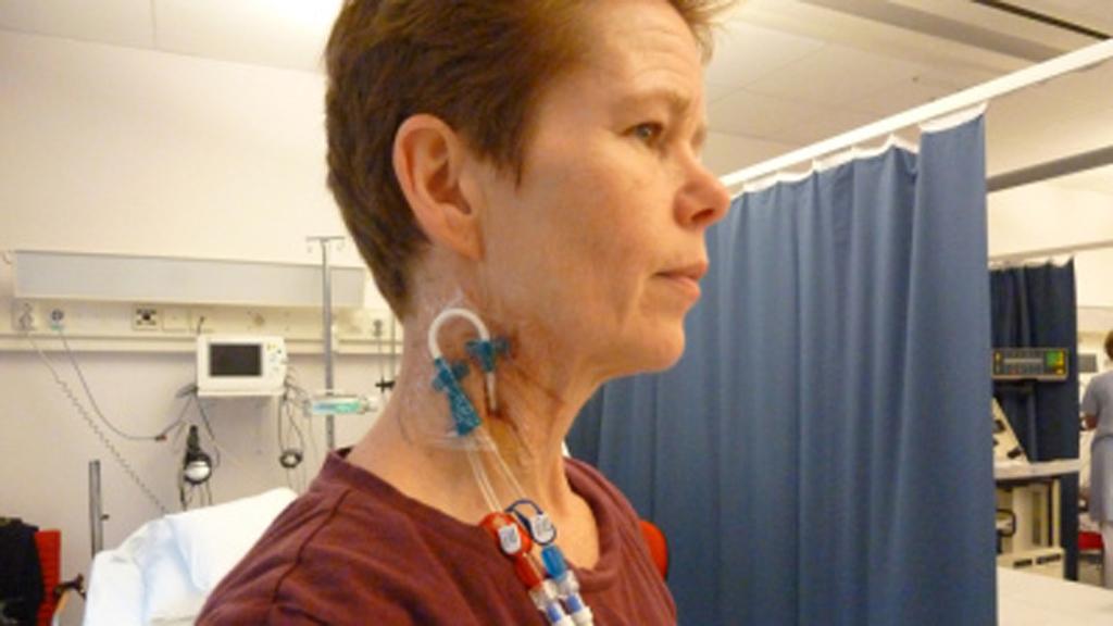 BLE FRISK: Hanna Vesterager fikk stamcelletransplantasjon og cellegift i 2010 som behandling mot MS.