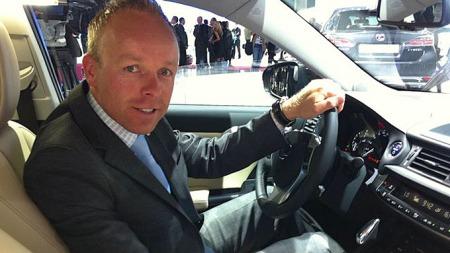Lexus-sjef Jan Christian Holm kan glede seg over et rekordår i 2012 - og har ambisjoner om kraftig vekst i årene som kommer.