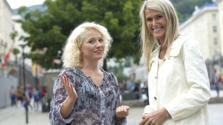 hedda Kise blir programleder for TV 2 Sporty. Her sammen med Siren Henschien.