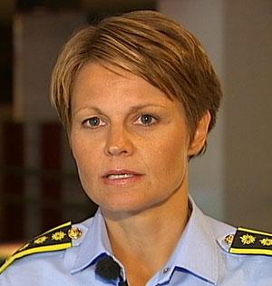 ADVARER: Seksjonssjef Lena Reis i Kripos. (Foto: TV 2)