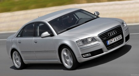 Audi A8 forfra