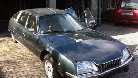 En CX Prestige er både lang og eksklusiv - men ganske ukjent utenfor Citroën-kretser. Førstemann som disponerte denne er imidlertid så kjent som man kan bli her i landet. (Foto: Finn.no)