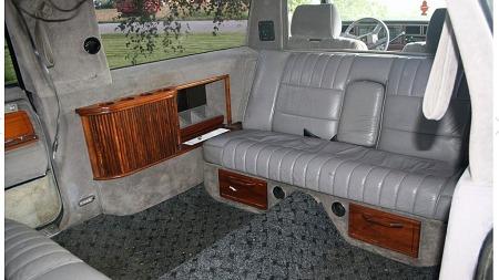 I USA går gamle limousiner fra statusen