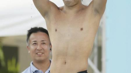 Akihiro Yamaguchi (Foto: JIJI PRESS/Afp)