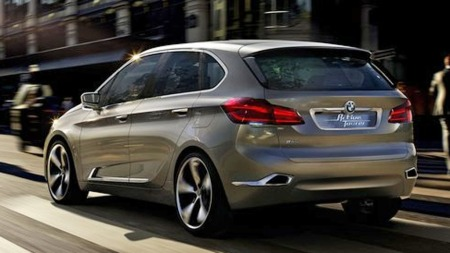 BMW 1-serie GT bakfra