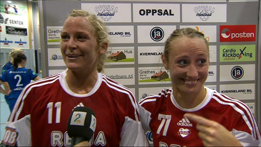 Ida Alstad og Camilla Herrem (Foto: TV 2)