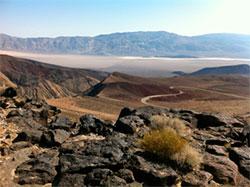 Death Valley ligger 86 meter under havet overflate. (Foto: Ronald Toppe)