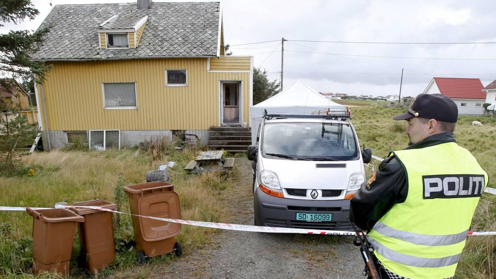 BODDER HER: Kvinnen ble funnet død i hjemmet sitt tirsdag. (Foto: Jan Kåre Ness/NTB scanpix)