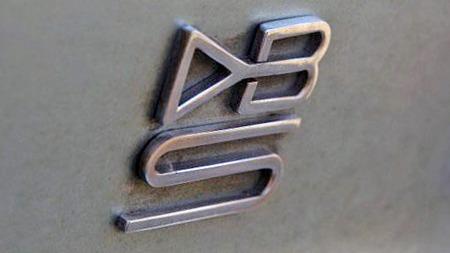 1968 Aston Martin DBS.