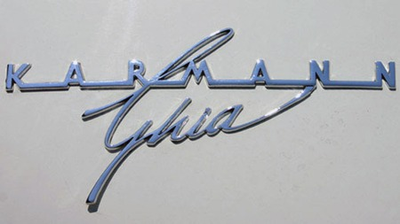 1966 Volkswagen Karmann Ghia.