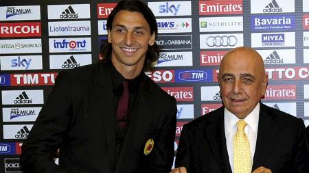GAMLESJEFEN: Adriano Galliani mener at han sviktet Zlatan. (Foto: OLIVIER MORIN/Afp)