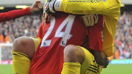 Liverpool-Manchester United 2009 (Foto: PAUL ELLIS/AFP)