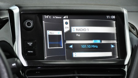 Peugeot 208 detalj navienhet