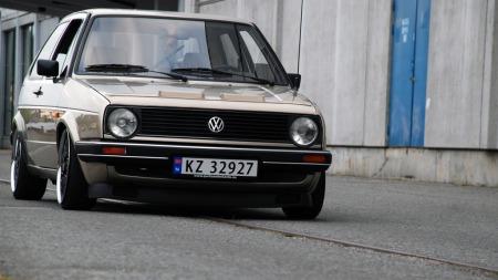 En av bileierens øvrige hobbyer er fotografering, og det nyter også Golfen godt av. (Foto: Privat)