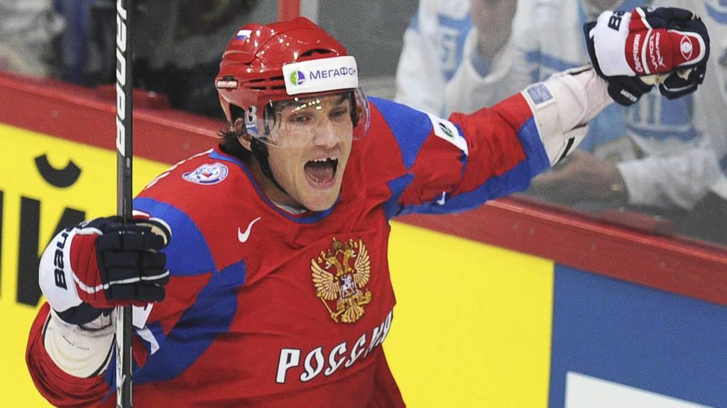 Alex Ovechkin (Foto: ALEXANDER NEMENOV/Afp)