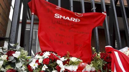 United-drakt på Anfield (Foto: Peter Byrne/Pa Photos)