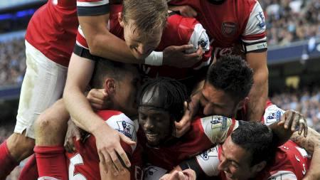 Arsenal-jubel (Foto: Martin Rickett/Pa Photos)