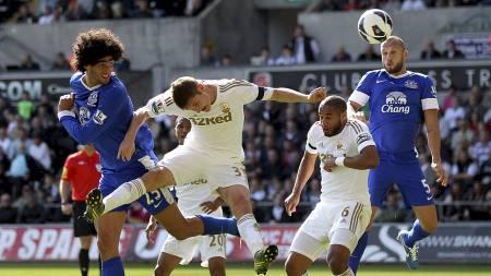 Marouane Fellaini 3-0 (Foto: Nick Potts/Pa Photos)