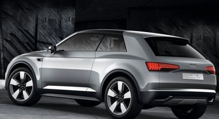 Audi Q2 bakfra